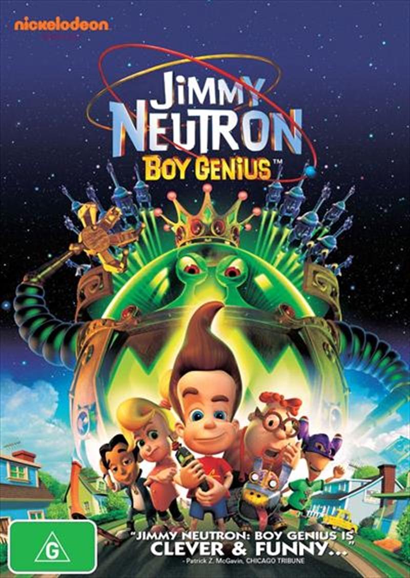 Jimmy Neutron - Boy Genius | DVD