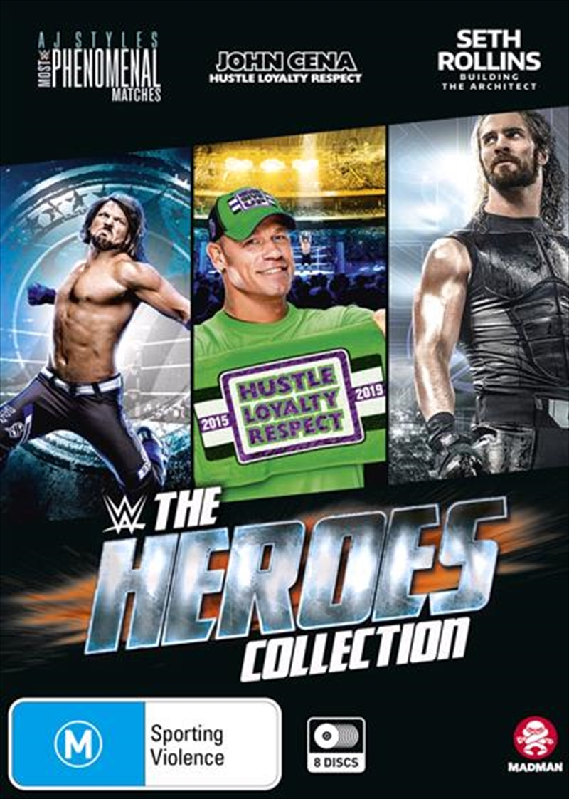 WWE - The Heroes Collection | DVD