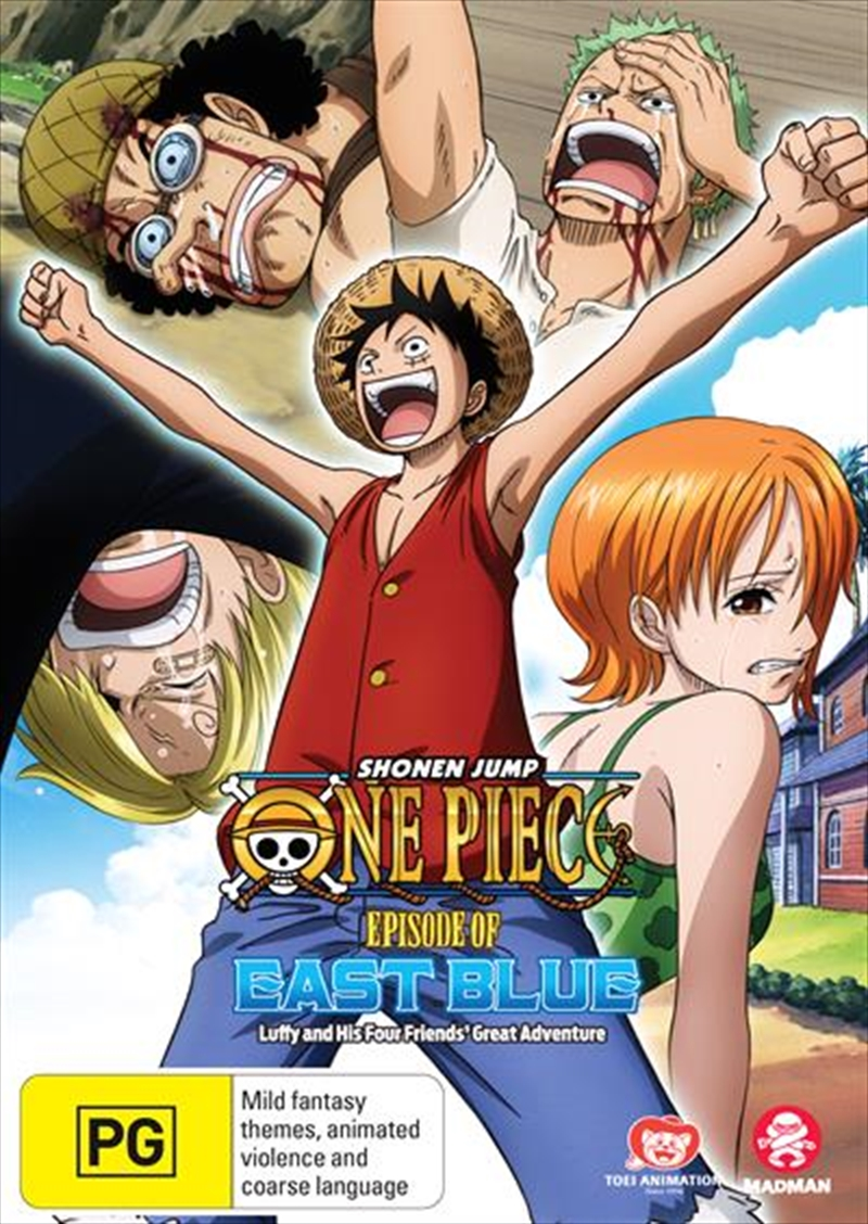 One Piece - Episode Of East Blue - Luffy And His Four Friends' Great Adventure | DVD
