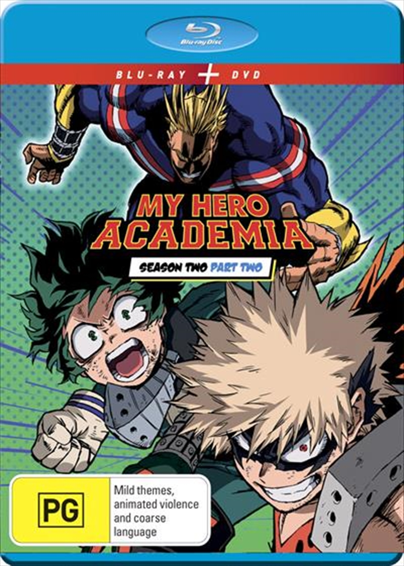 My Hero Academia - Season 2 - Part 2 | Blu-ray + DVD | Blu-ray/DVD