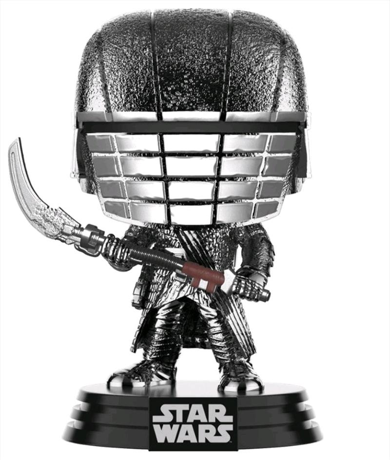 Star Wars - Knight of Ren Scythe Episode IC Rise of Skywalker Hematire Chrome Pop! Vinyl   Pop Vinyl