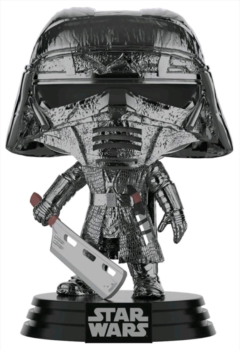 Star Wars - Knight of Ren Blade Episode IX Rise of Skywalker Hematite Chrome Pop! Vinyl | Pop Vinyl