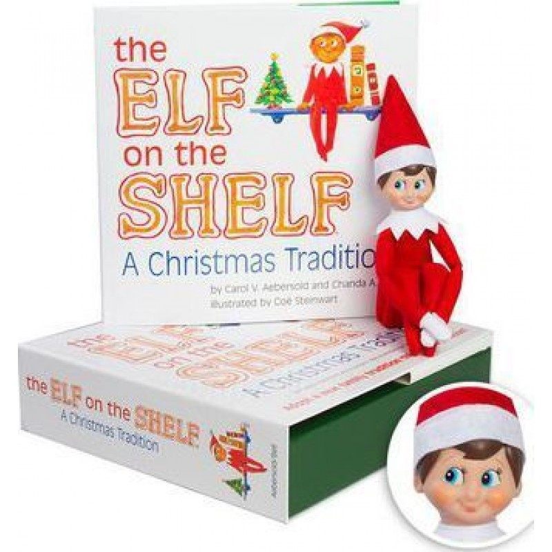Elf On The Shelf - A Christmas Tradition (Boy) | Hardback Book