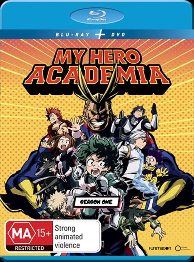 My Hero Academia - Season 1 | Blu-ray/DVD