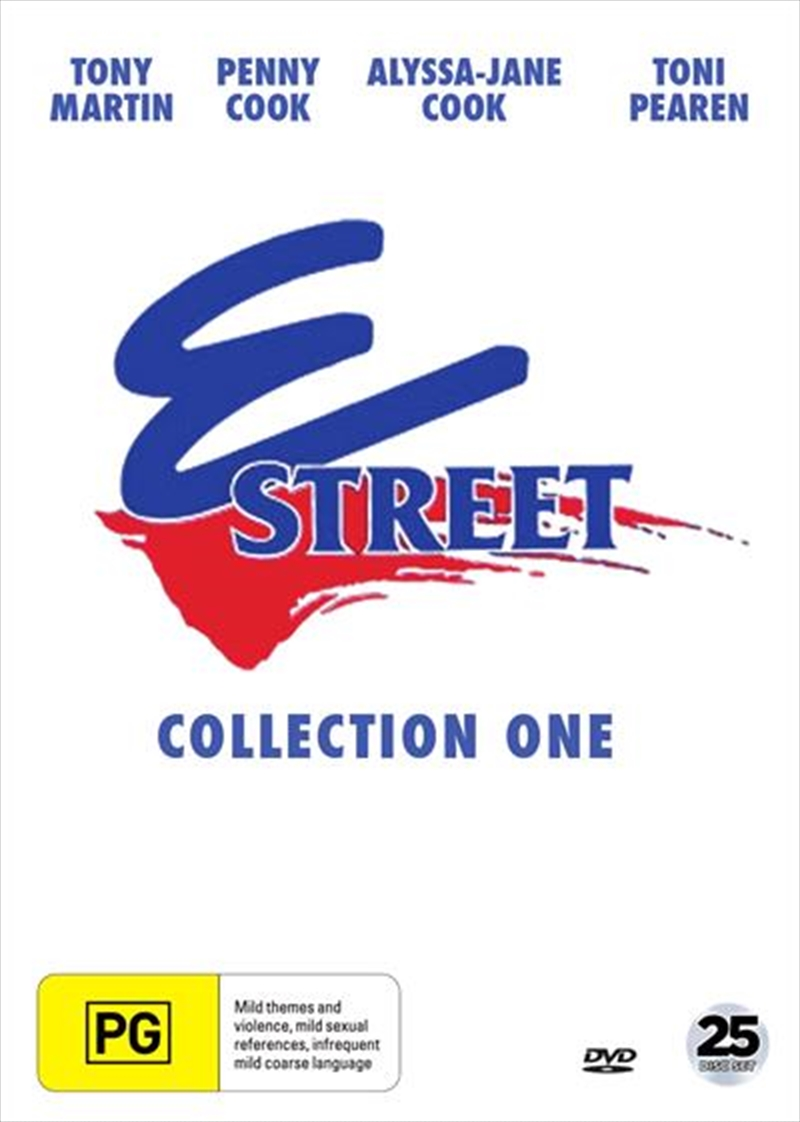 E Street - Collection 1 - Eps 1-96 | DVD