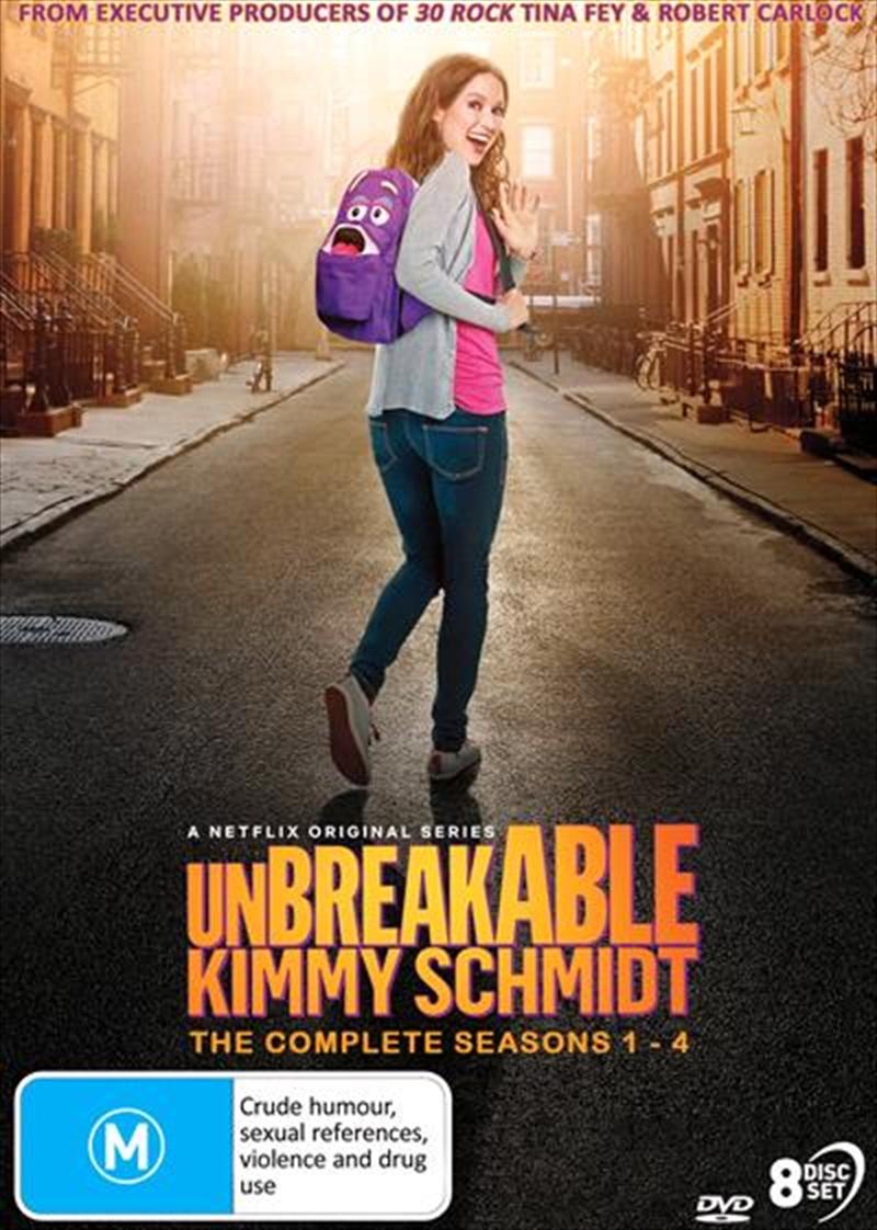 Unbreakable Kimmy Schmidt - Season 1-4 | Complete Series | DVD