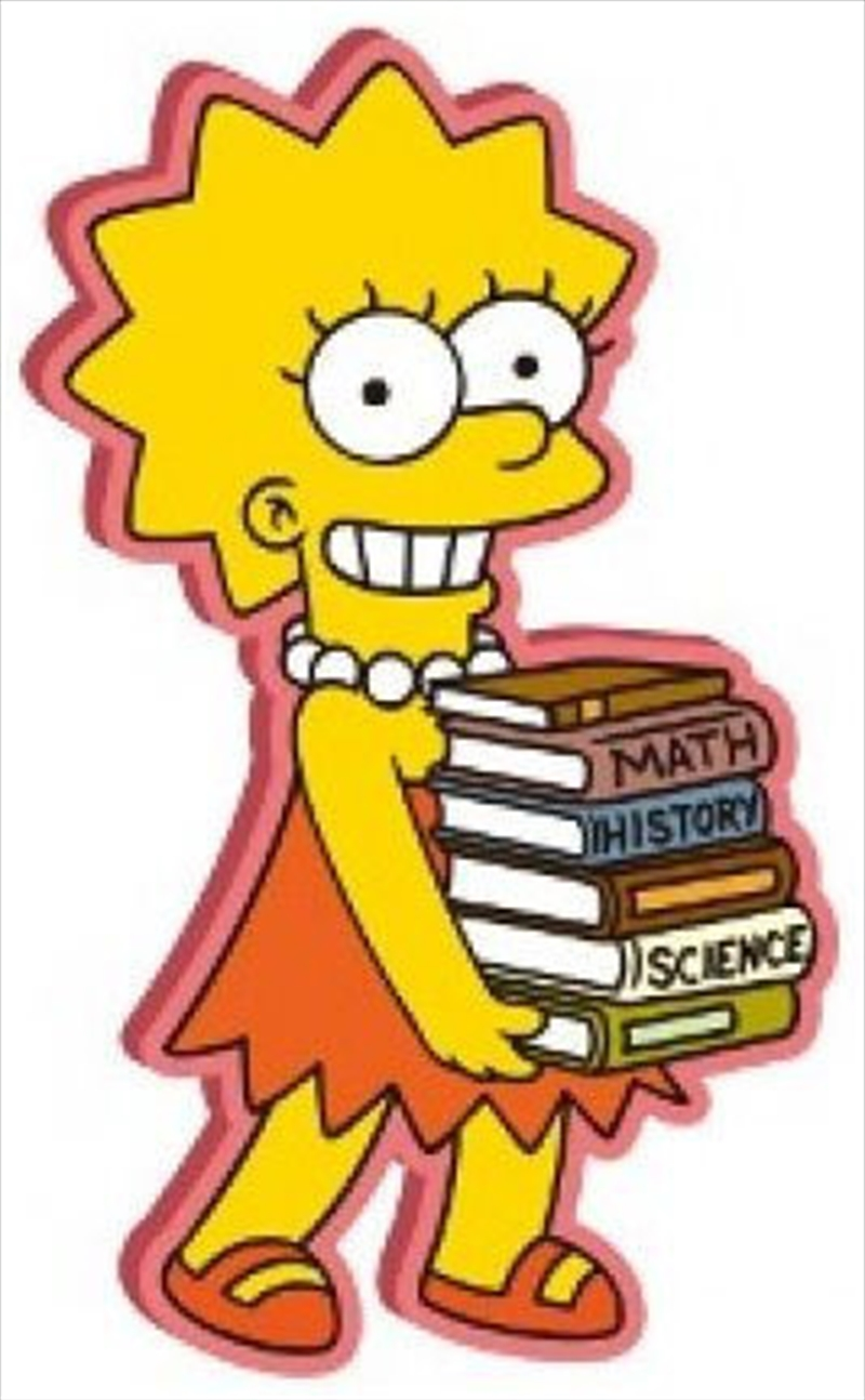 Magnet Soft Touch The Simpsons Lisa Simpson | Merchandise