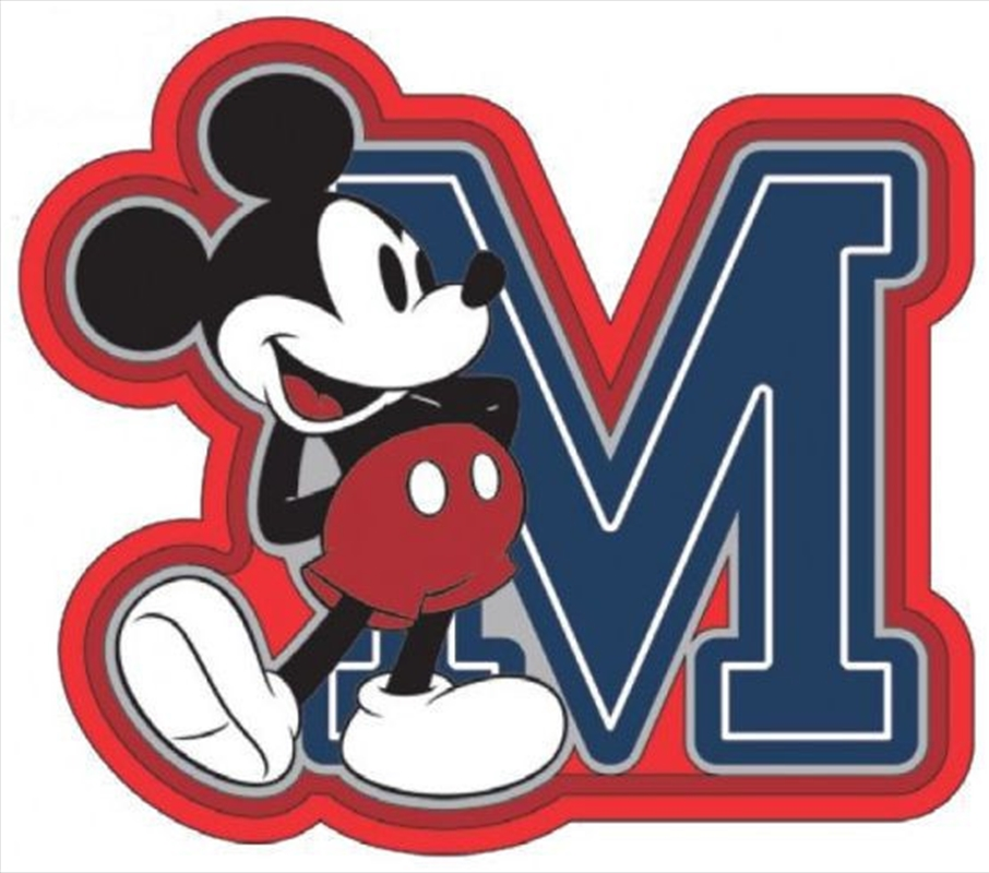 Magnet Soft Touch Mickey Mouse M | Merchandise
