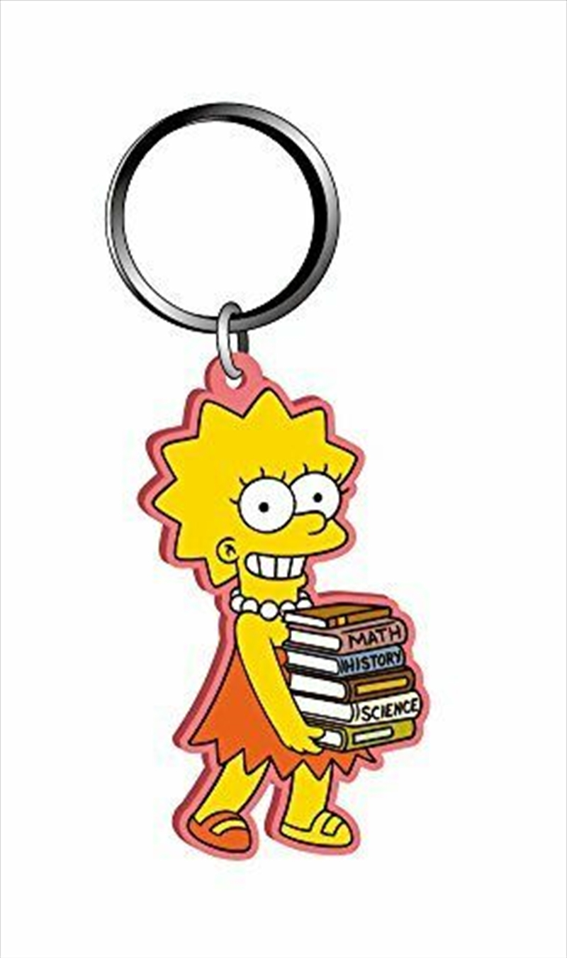 Keyring Soft Touch The Simpsons Lisa Simpson | Accessories