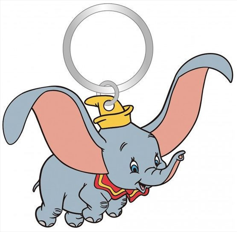 Keyring Soft Touch Dumbo | Accessories