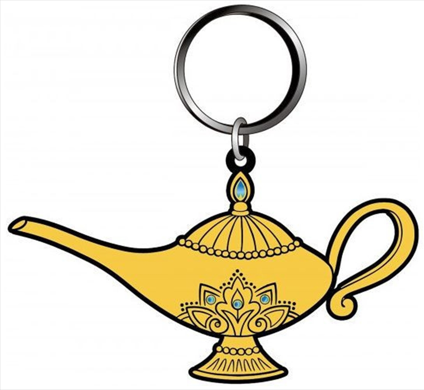 Keyring Soft Touch Aladdin Aladdins Lamp | Accessories
