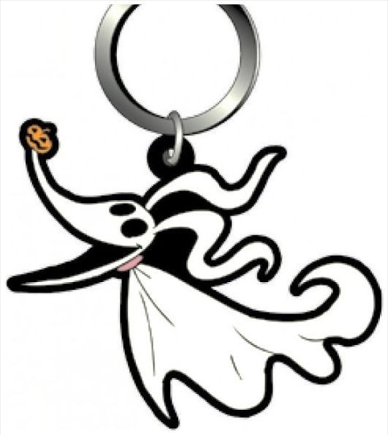 Keyring Soft Touch A Nightmare Before Christmas Zero | Accessories