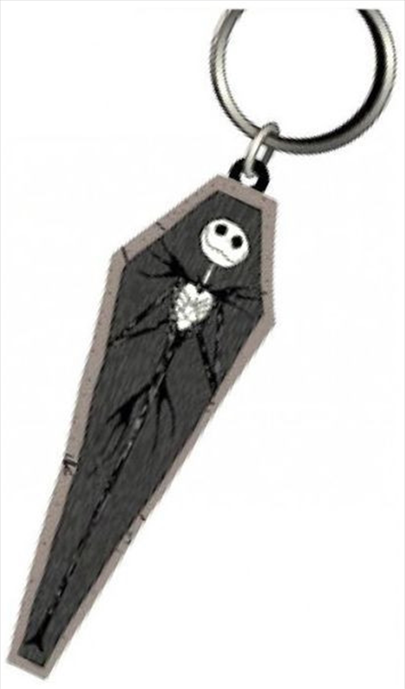 Keyring Soft Touch A Nightmare Before Christmas Jack Skellington in Coffin | Accessories