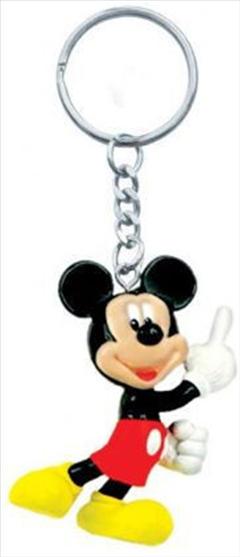 Keyring PVC Figural Mickey Mouse | Accessories