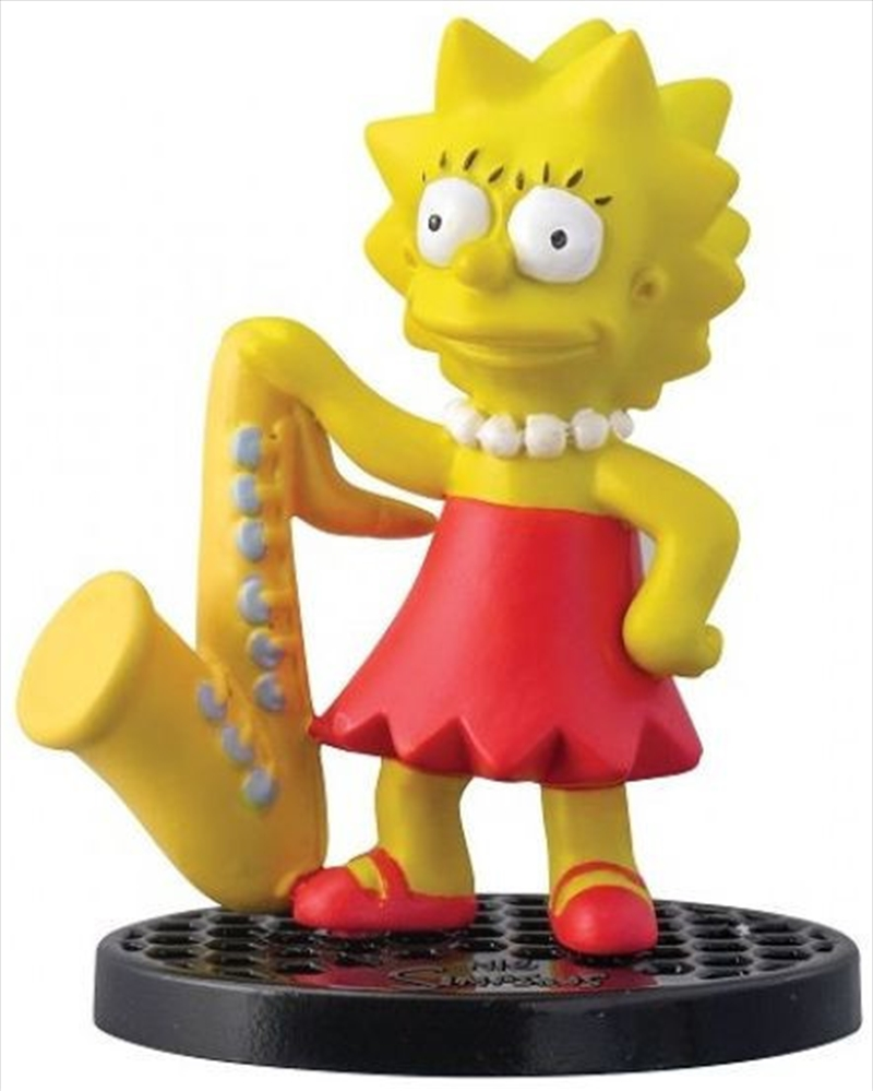 PVC Figurine The Simpsons Lisa Simpson 2.75"