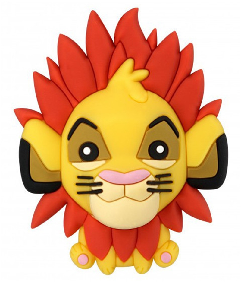 Magnet 3D Foam The Lion King Simba | Merchandise