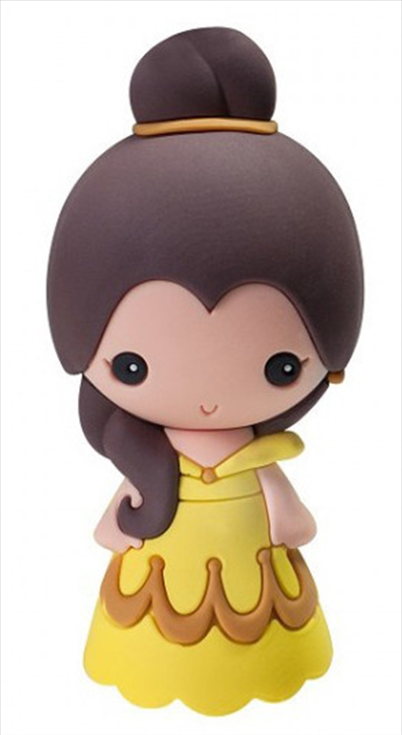 Magnet 3D Foam Disney Princess Beauty and the Beast Belle | Merchandise