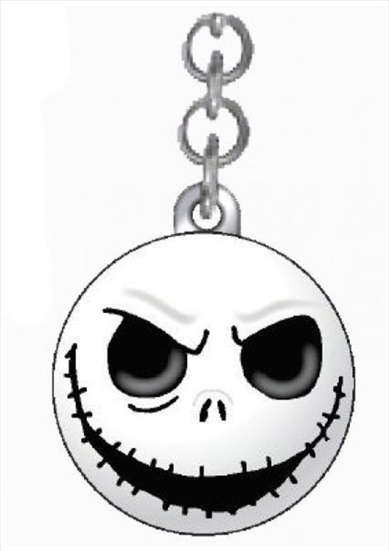Keyring Icon Ball A Nightmare Before Christmas Jack Skellington Evil Grin | Accessories