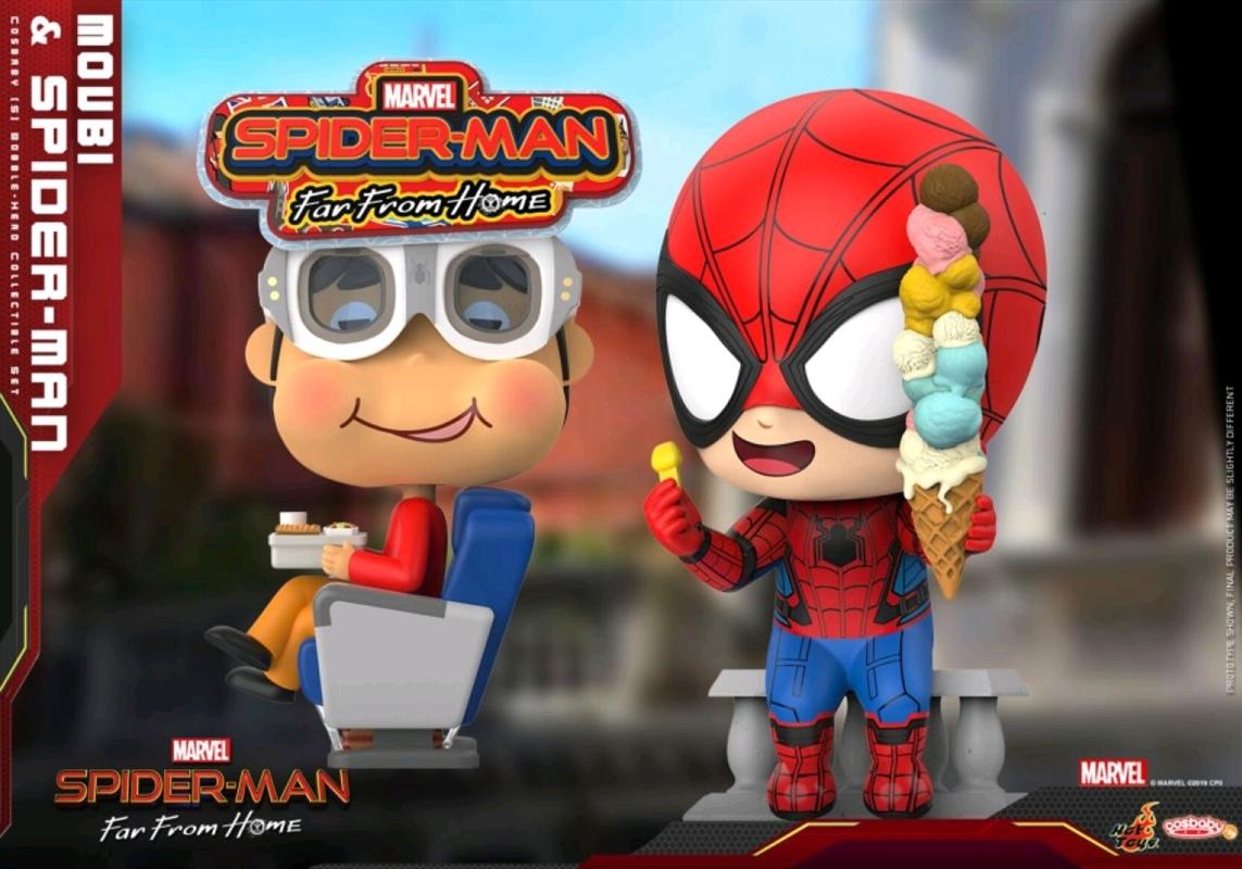 Spider-Man: Far From Home - Spider-Man & Movbi Cosbaby Set | Merchandise