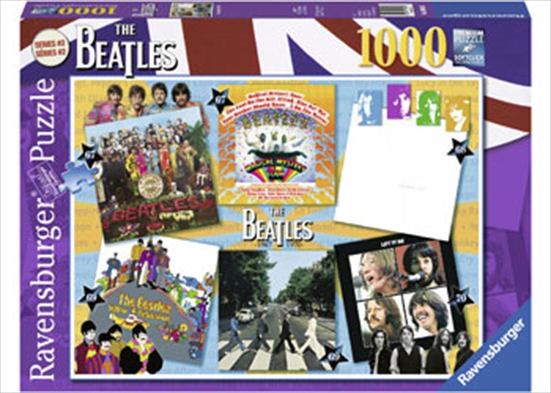 Beatles Albums 1967-1970 1000 Piece Puzzle   Merchandise