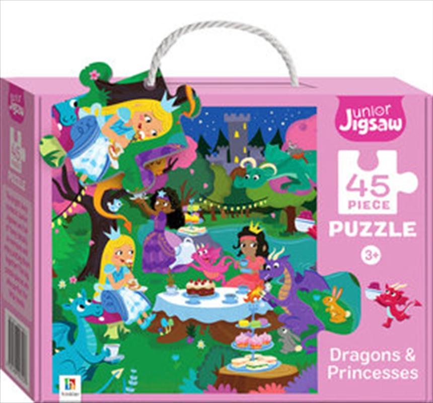 Junior Jigsaw Dragons And Princesses | Merchandise