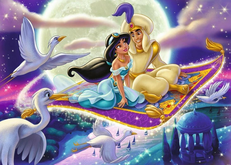 Ravensburger - 1000pc Disney Aladdin Moments Jigsaw Puzzle | Merchandise