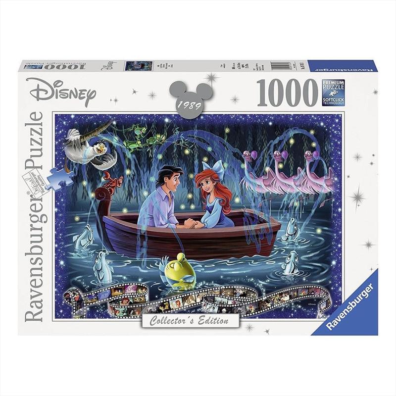 Ravensburger Disney Moments The Little Mermaid 1000 Piece Jigsaw Puzzle | Merchandise