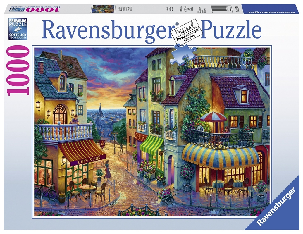 Ravensburger - An Evening in Paris 1000 Piece Jigsaw Puzzle | Merchandise
