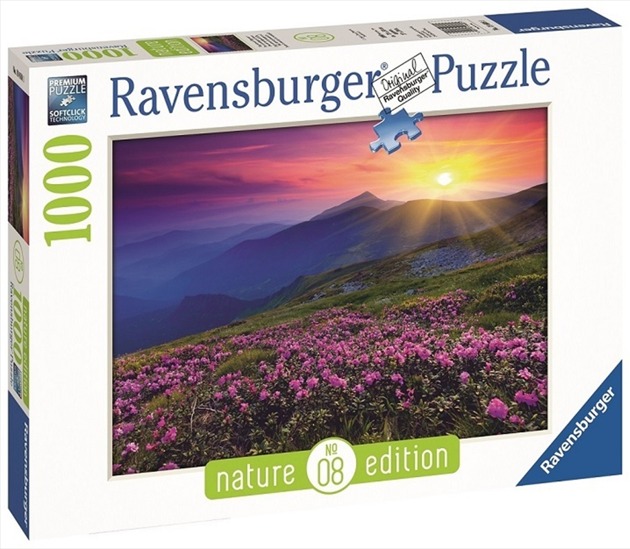Ravensburger - 1000pc Early Morning Mountains Nature Jigsaw Puzzle | Merchandise