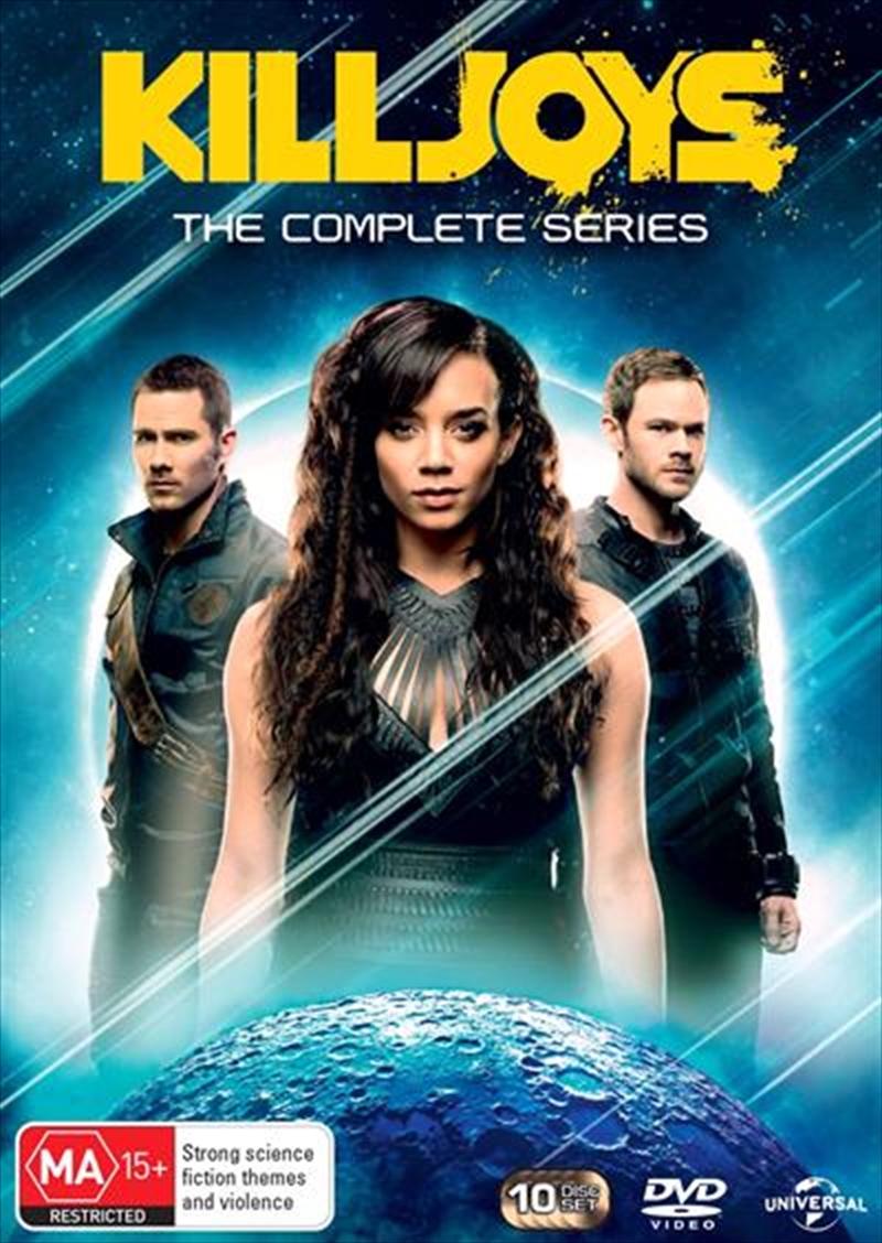 Killjoys - Season 1-5   Boxset   DVD