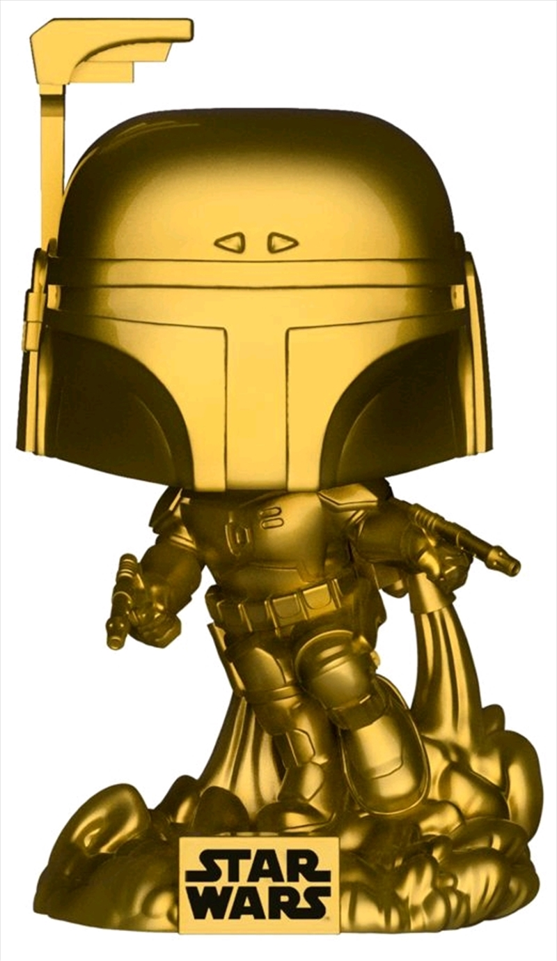 Star Wars - Jango Fett Gold Metallic US Exclusive Pop! Vinyl [RS]   Pop Vinyl