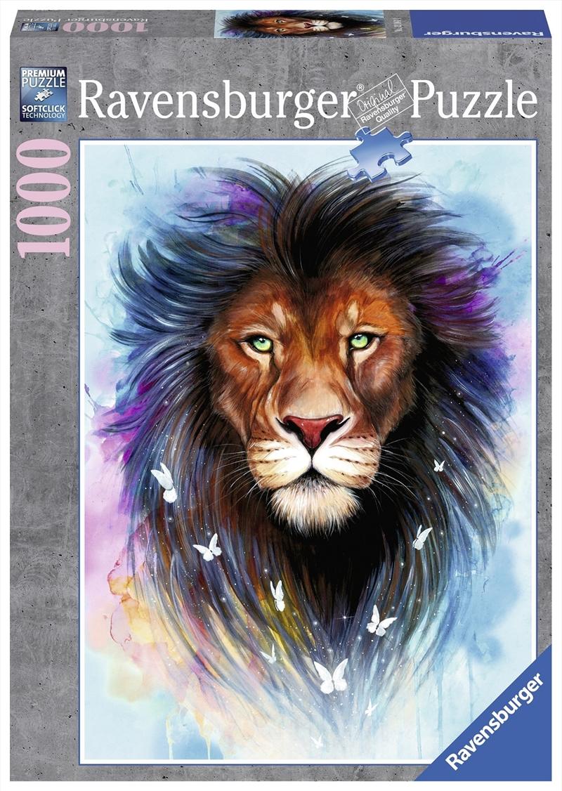 Ravensburger - 1000pc Majestic Lion Jigsaw Puzzle | Merchandise