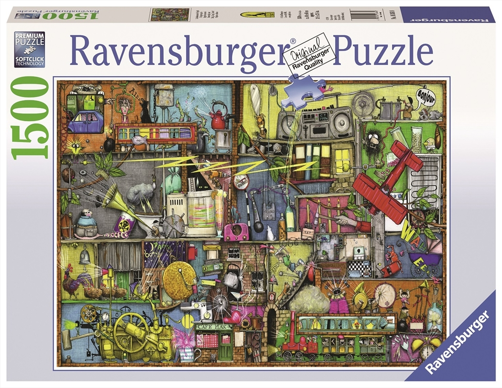 Ravensburger - 1500pc Cling Clang Clatter! Jigsaw Puzzle | Merchandise