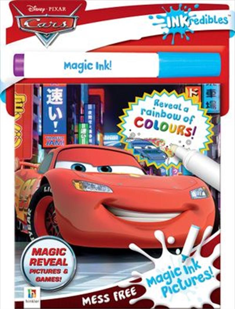 Inkredibles Disney Cars Magic Ink Pictures (2019 Ed) | Hardback Book