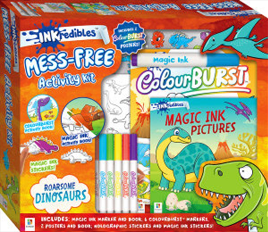 Inkredibles Activity Kit with Poster Dinosaurs | Merchandise