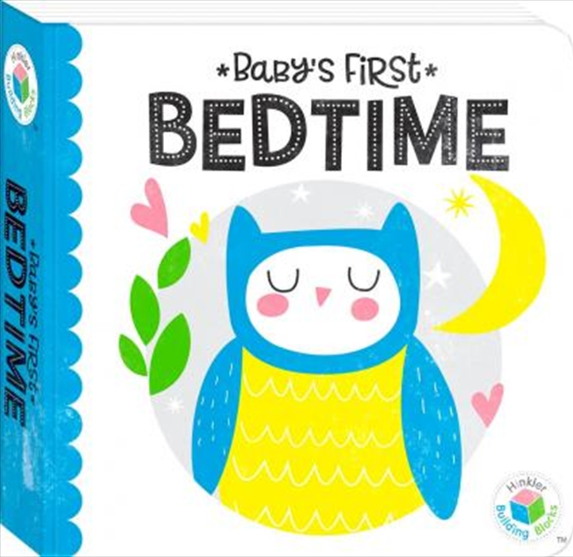 Building Blocks Neon Baby's First Bedtime | Hardback Book