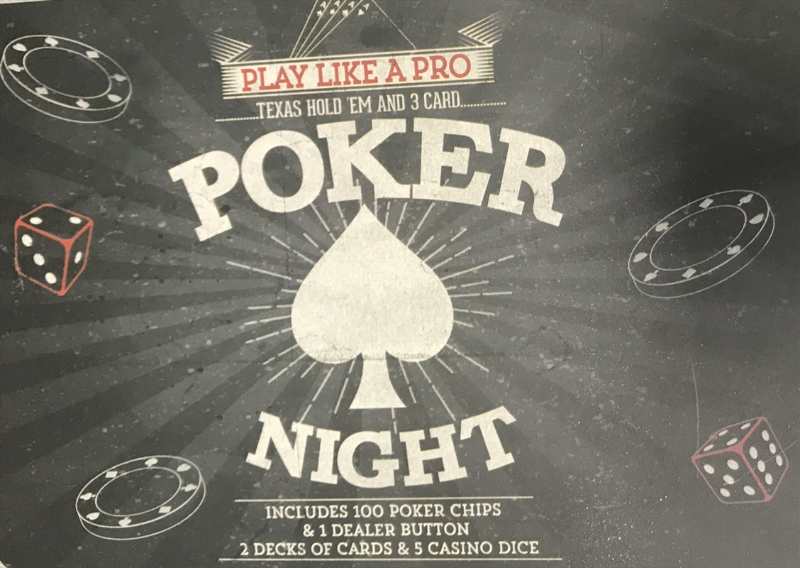 Box Of Poker Tin Set | Toy