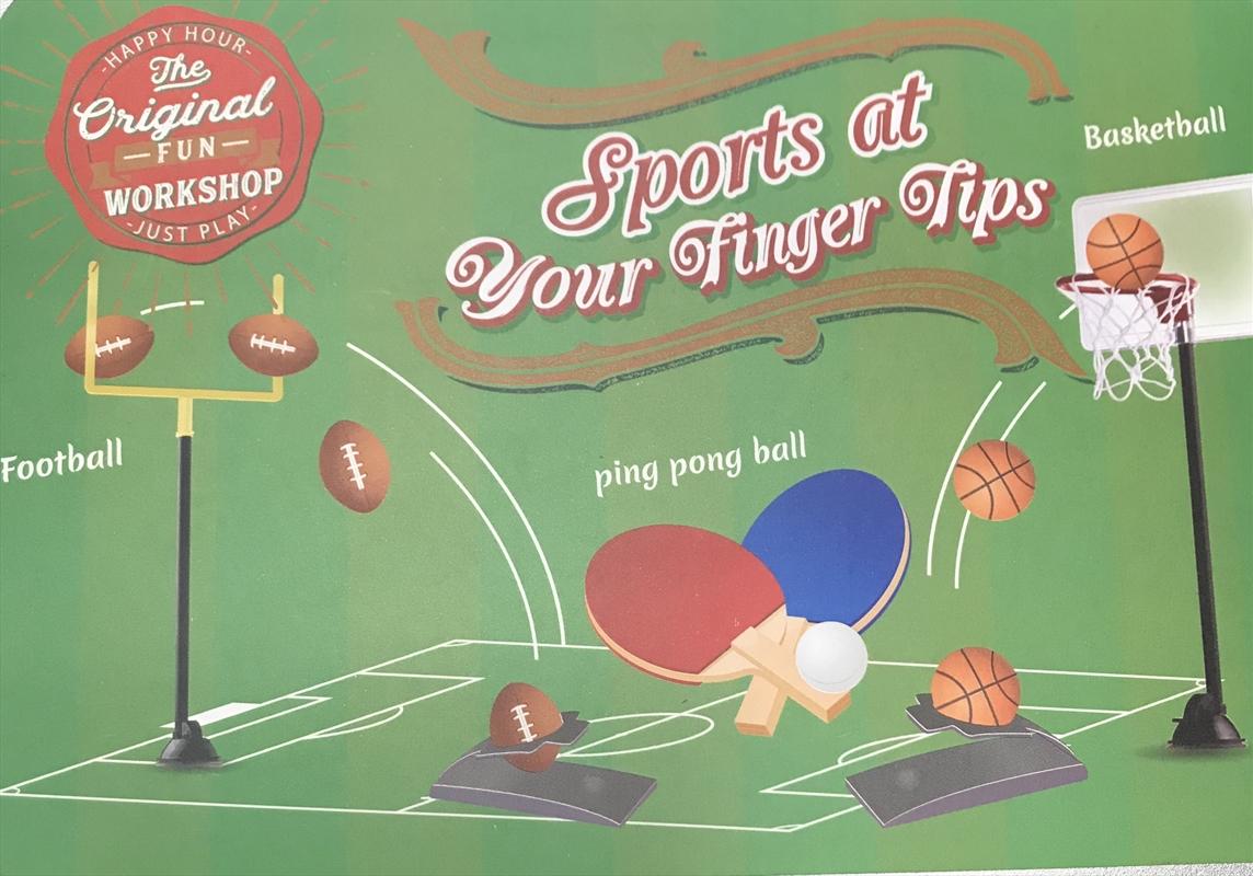 Box Of Sports Tin Set   Toy