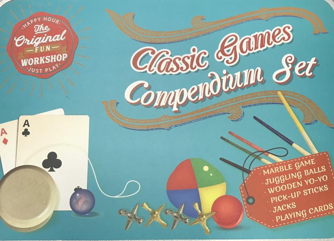 Box Of Classic Game Tin Set | Toy