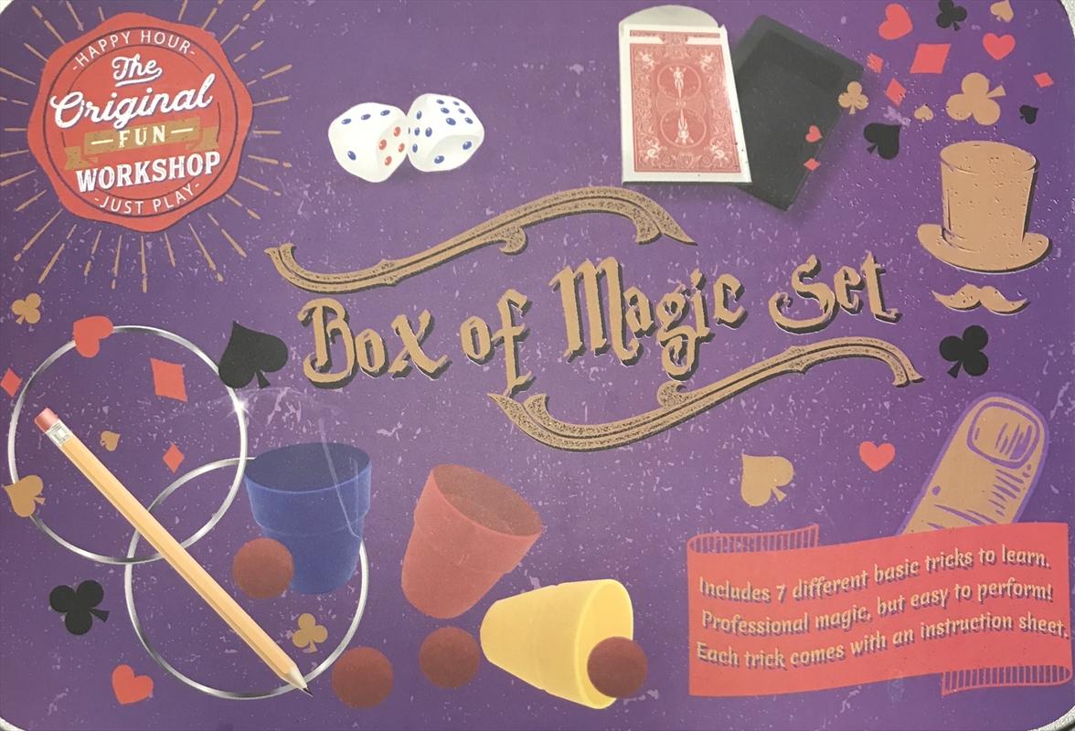 Box Of Magic - Tin Set   Toy