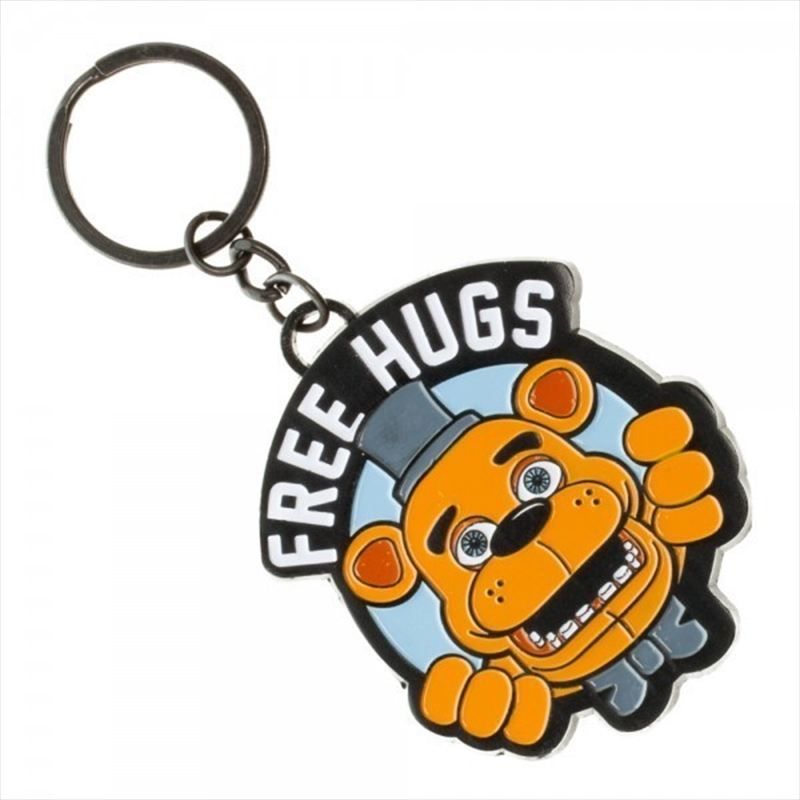 Five Nights at Freddy's Free Hugs Keychain | Accessories