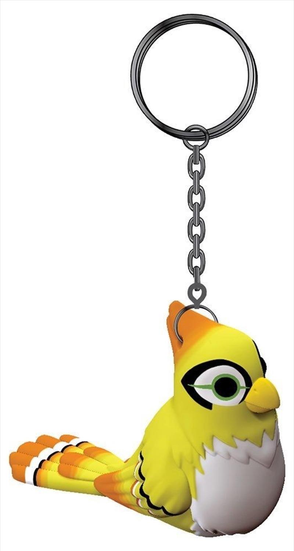 Overwatch Ganymede 3D Keychain Yellow | Accessories