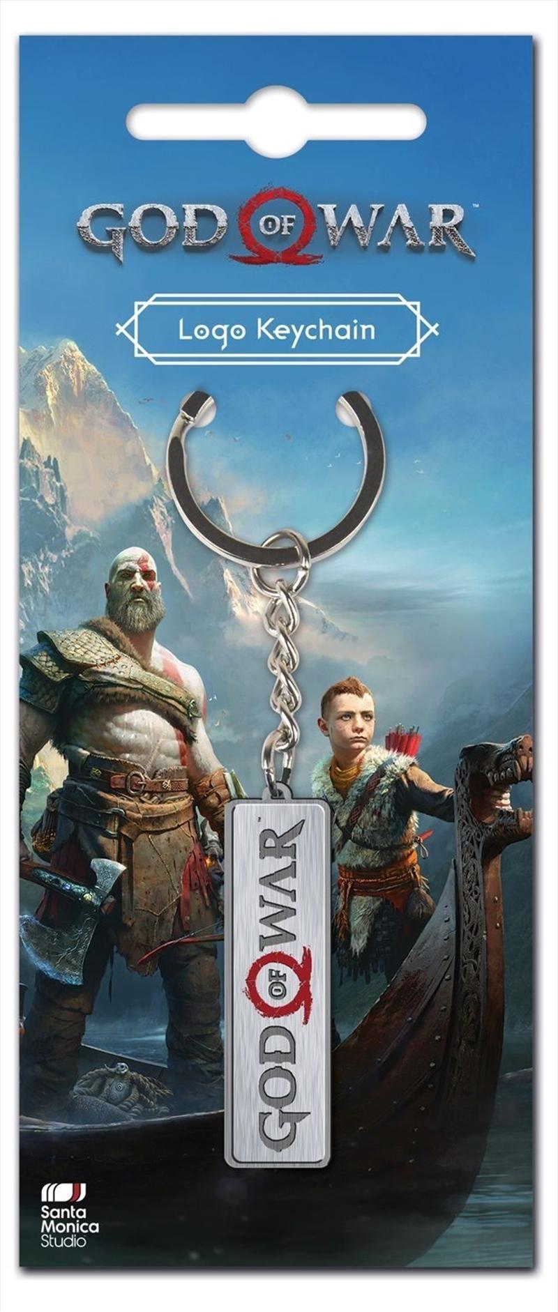 God of War Keychain Logo   Accessories