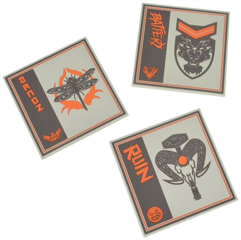 Call of Duty Black Ops 4 Silicone Coasters (3 Pack) | Merchandise