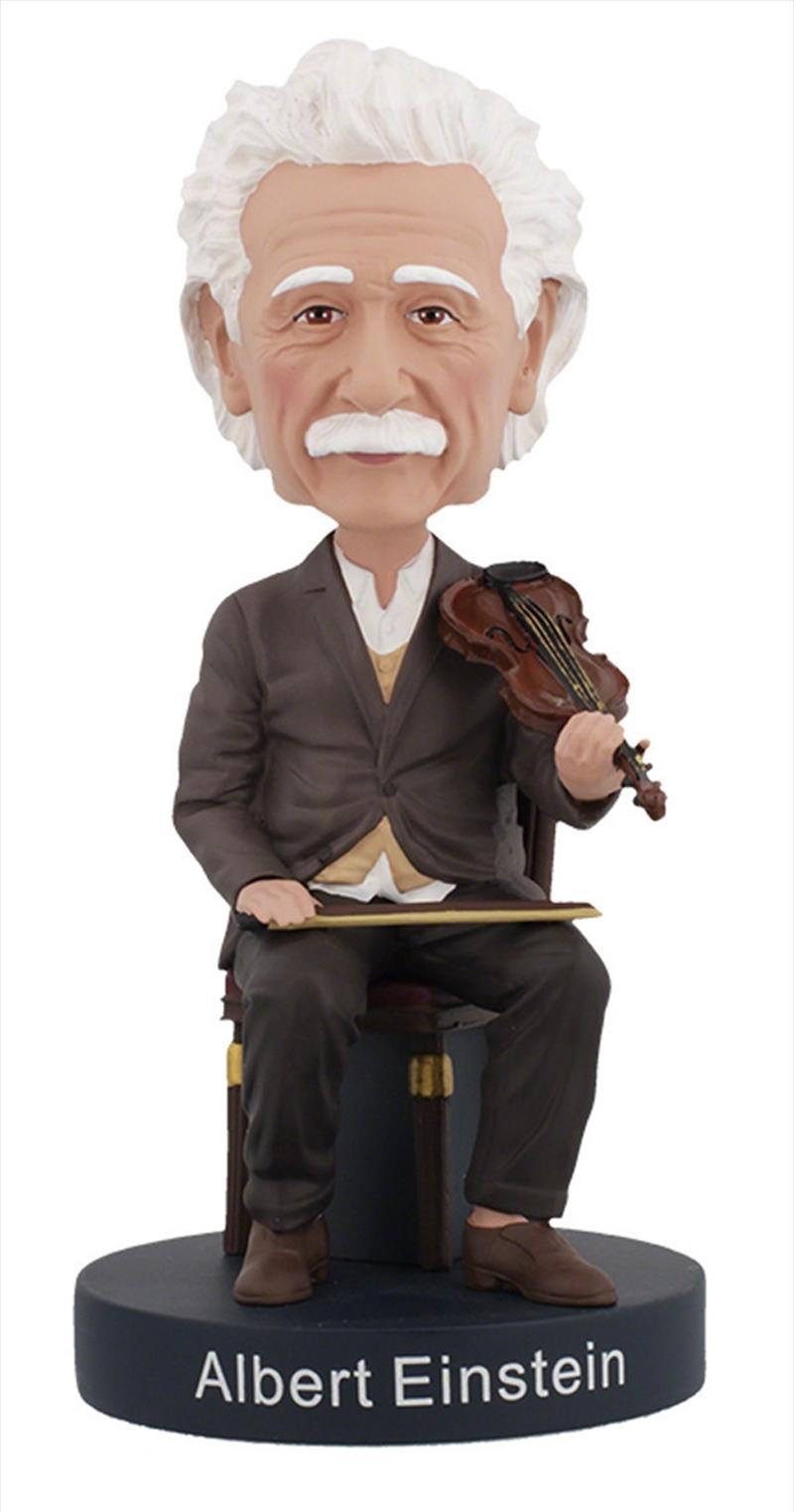 Bobblehead Albert Einstein with Violin | Merchandise