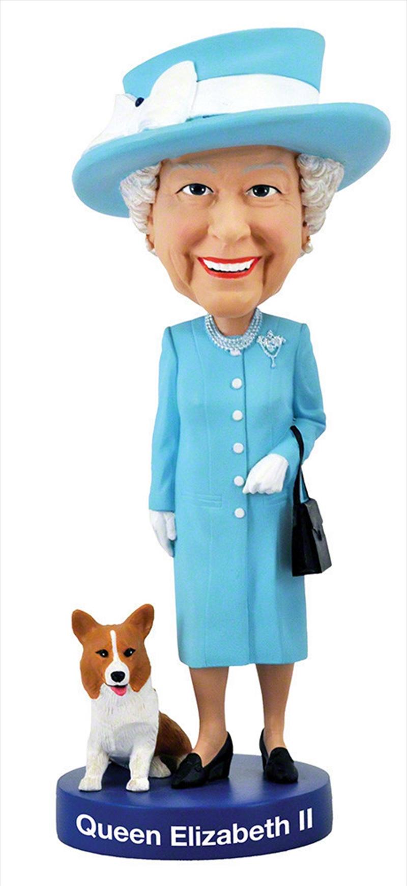 Queen Elizabeth 2 8 Inch   Merchandise