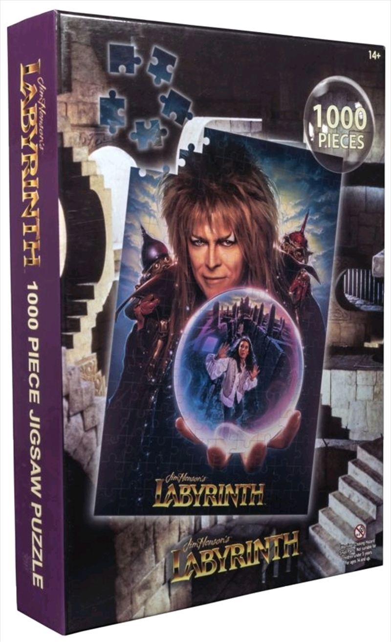 Labyrinth - Movie Poster Jigsaw Puzzle | Merchandise