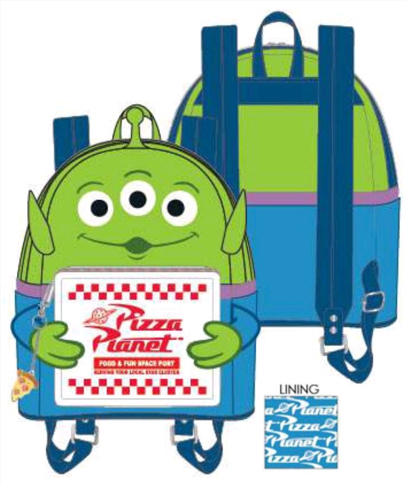 Toy Story - Alien with Pizza Box Mini Backpack | Apparel