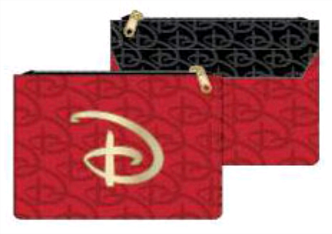 Disney - Red & Black Logo Purse | Apparel