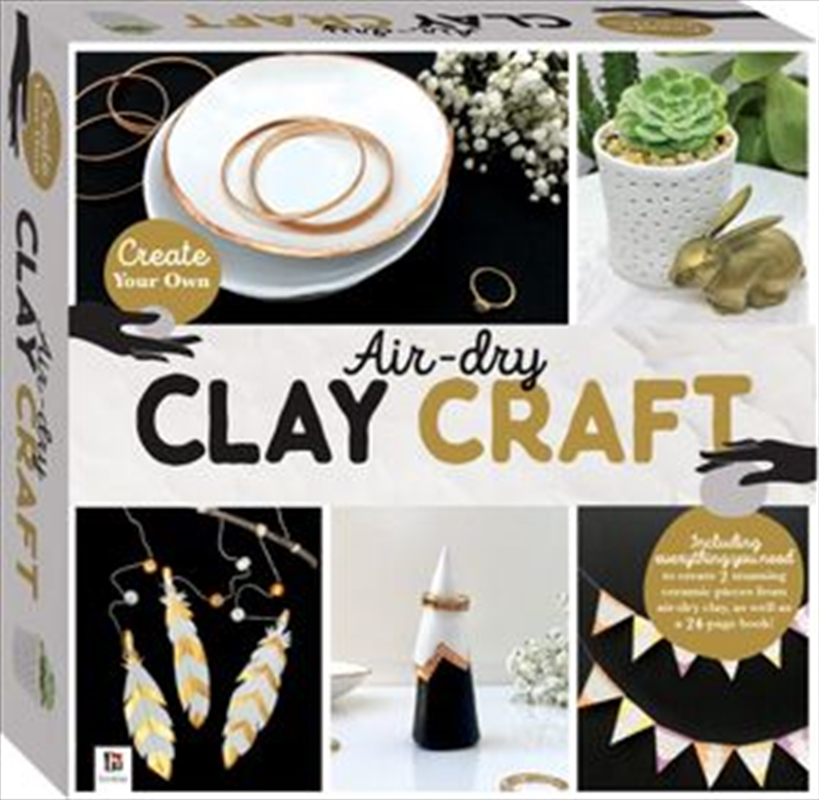 Air Dry Clay Craft Box Set - Create Your Own Craft Kit   Merchandise